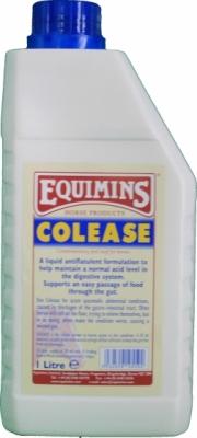 EQUIMINS Colease Colic Liquid - preparat w płynie zapobiegający występowaniu kolki u koni 1000 ml