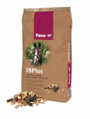 PAVO Musli dla starszych koni 18 Plus 15kg
