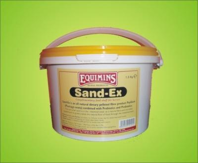 EQUIMINS Sand-Ex Pellets Premiks oczyszczający układ pokarmowy z piasku - 1.5kg