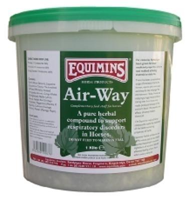 EQUIMINS Air Way - naturalna kompozycja dziesięciu ziół mających wpływ na utrzymanie w zdrowiu dróg oddechowych i płuc 1 kg