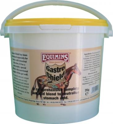 EQUIMINS Gastro Shield - dodatek paszowy wspomagający układ trawienny, zapobiegający wrzodom żołądka 2 kg