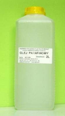 Olej parafinowy - środek do stosowania u koni z kolką, a także psów i kotów 2000 ml