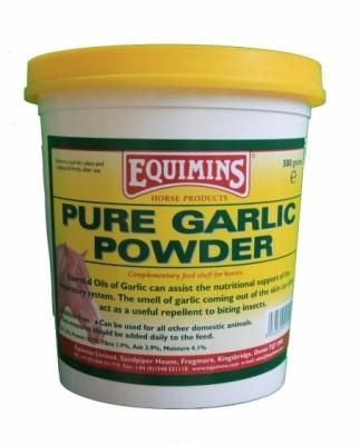 EQUIMINS Pure Garlic Powder - czosnek dla koni w proszku 3 kg