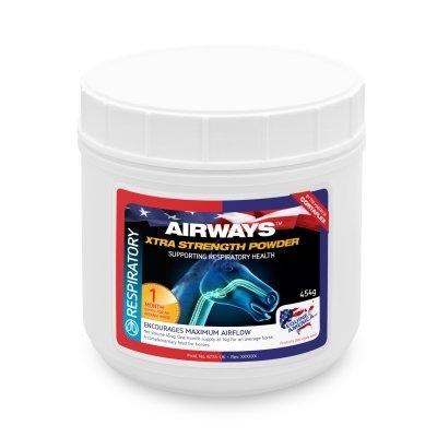 EQUINE AMERICA AIRWAYS EXTRA STRENGHT POWDER 500 g (zapas na 1 m-c)