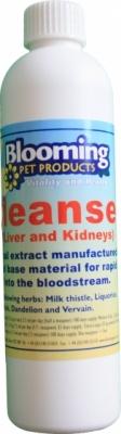 BLOOMING Cleanser Herbal Multiblend - dodatek ziołowy oczyszczający wątrobę i nerki, dla psów i kotów 250 ml